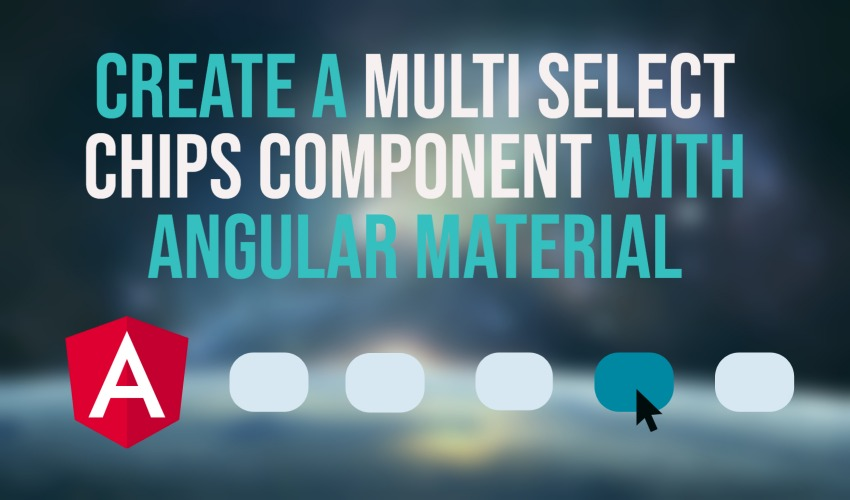 Create a multi select chips component